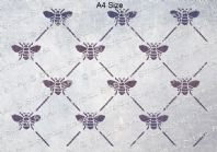 Bee Harlequin Pattern